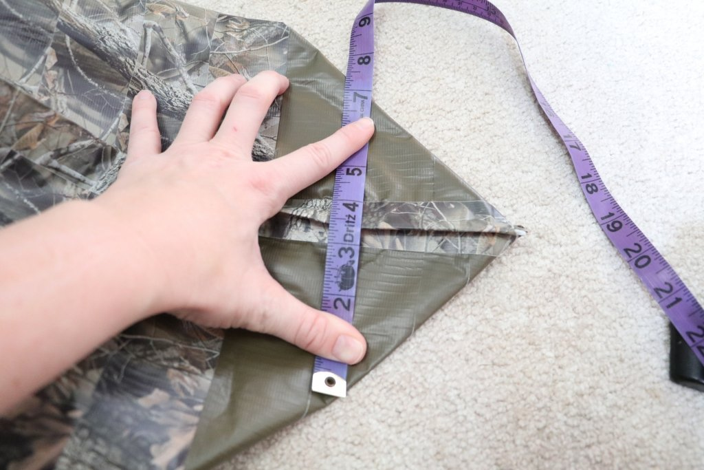 making a flat bottom tote