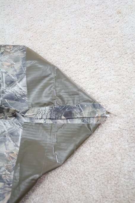 no sew flat bottom tote