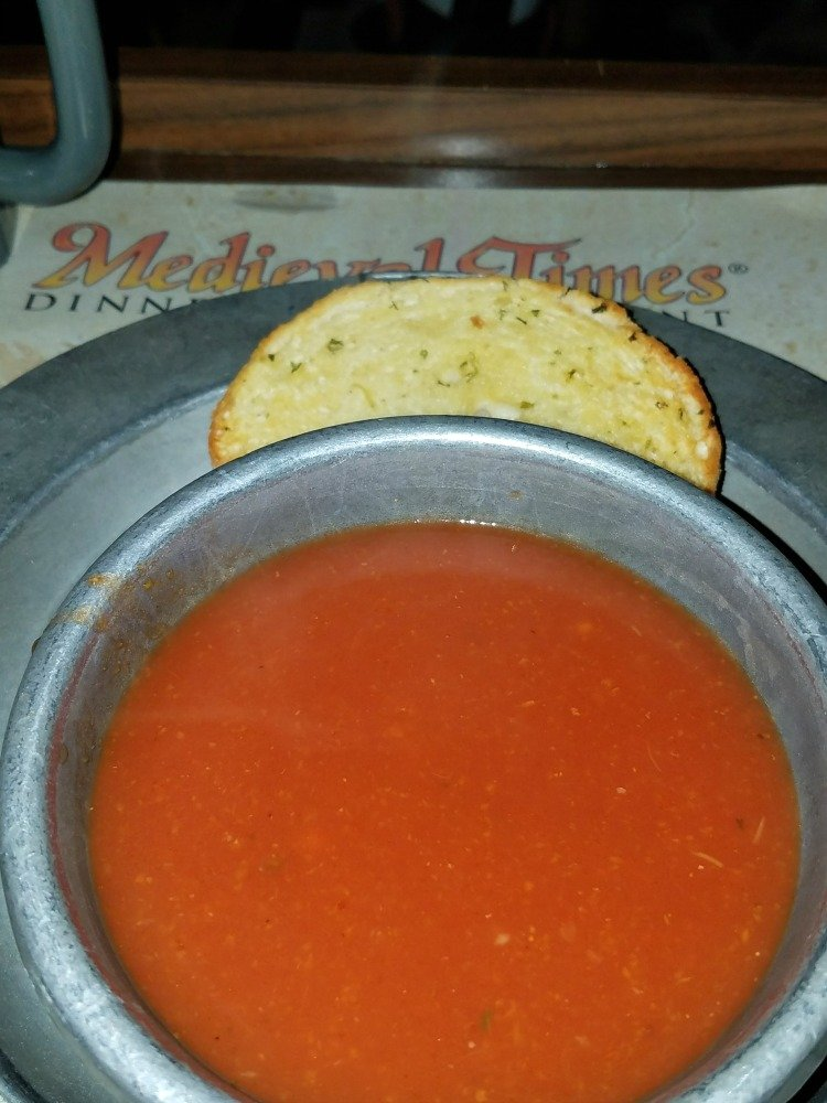 Medieval Times Reviews Tomato Bisque