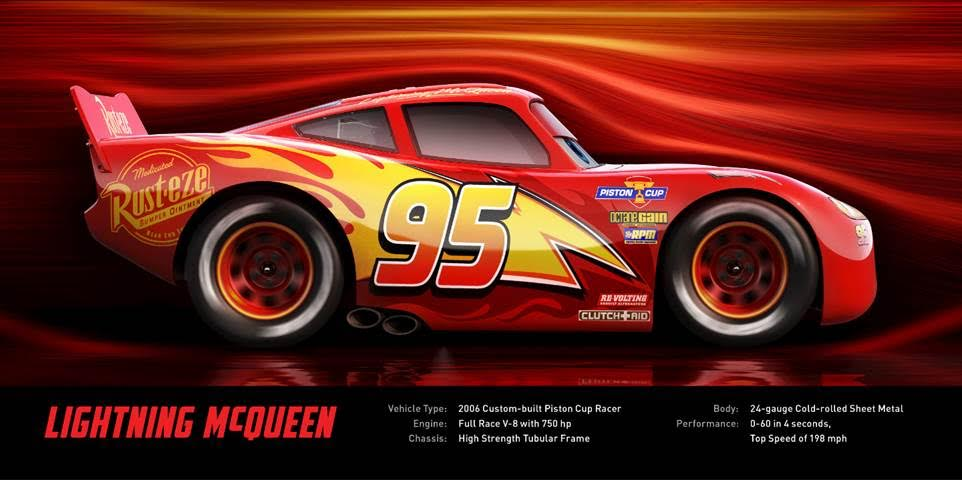 Disney's Cars 3 Movie - Lightning McQueen