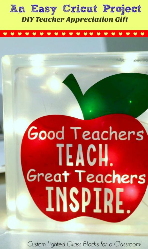 Cute and Easy Homemade Teacher Appreciation Gift Idea