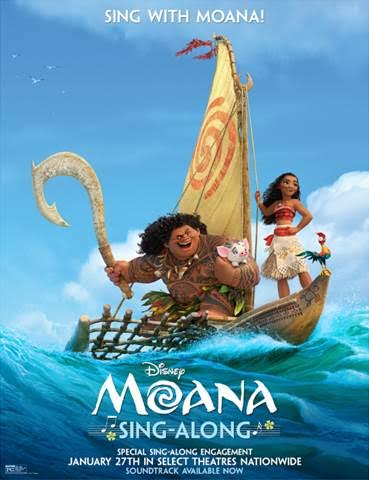 Sing Along With Moana