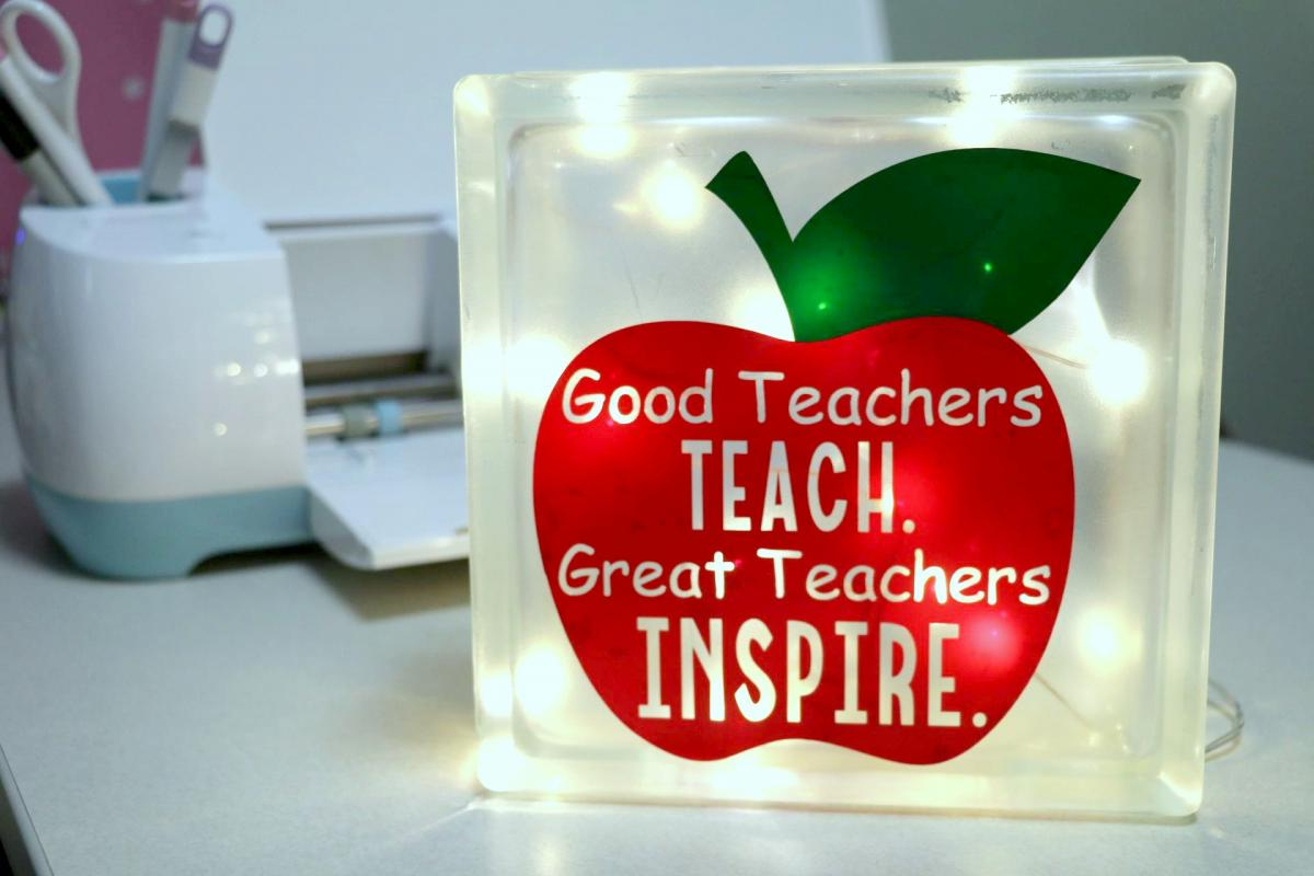 Easy homemade teacher appreciation gift idea