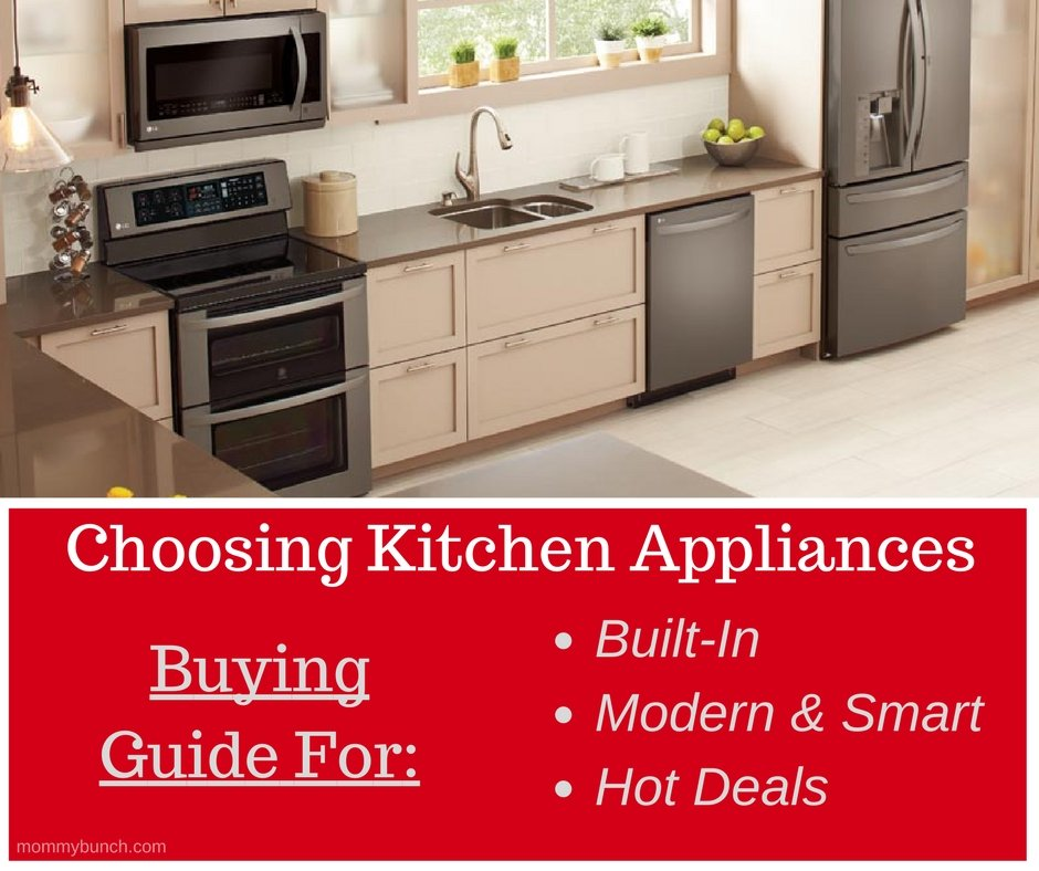 Choosing Kitchen Appliances – LG at Best Buy Buying Guide