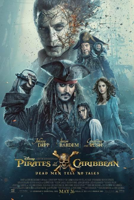 Our favorite swashbuckling anti-hero returns in the Pirates Of The Caribbean: Dead Men Tell No Tales