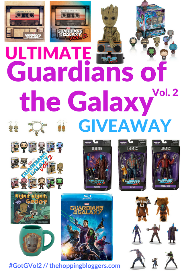 Guardians of the Galaxy Vol. 2 Ultimate Prize Package!