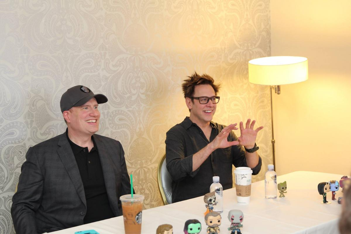 Marvel Studios President Kevin Feige and Director James Gunn – Exclusive Interview