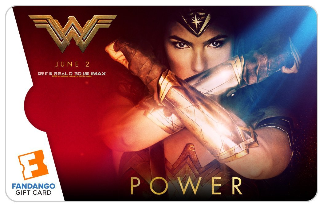Wonder Woman tops Fandango's most anticipated list! Enter to win a $25 Fandango gift card for your favorite summer movie!