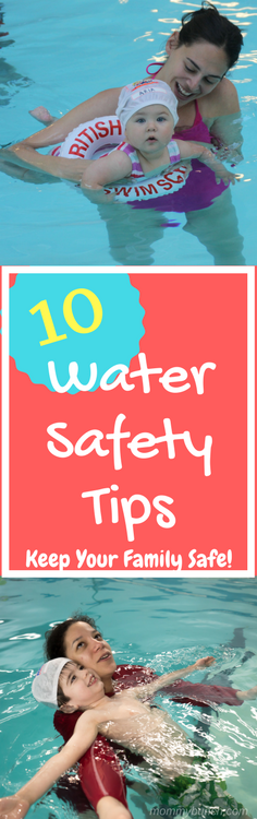 What does water safety mean to your family? To us, it means taking the necessary steps so that we all can safely be in and around the water. Here are 10 Water Safety Rules for You and Your Kids!