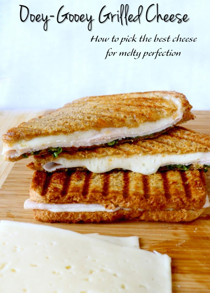 The best grilled cheese starts with a cheese that can melt to perfection! If you want an ooey & gooey grilled cheese sandwich, check out how to pick the best cheese for grilled cheese melty perfection!