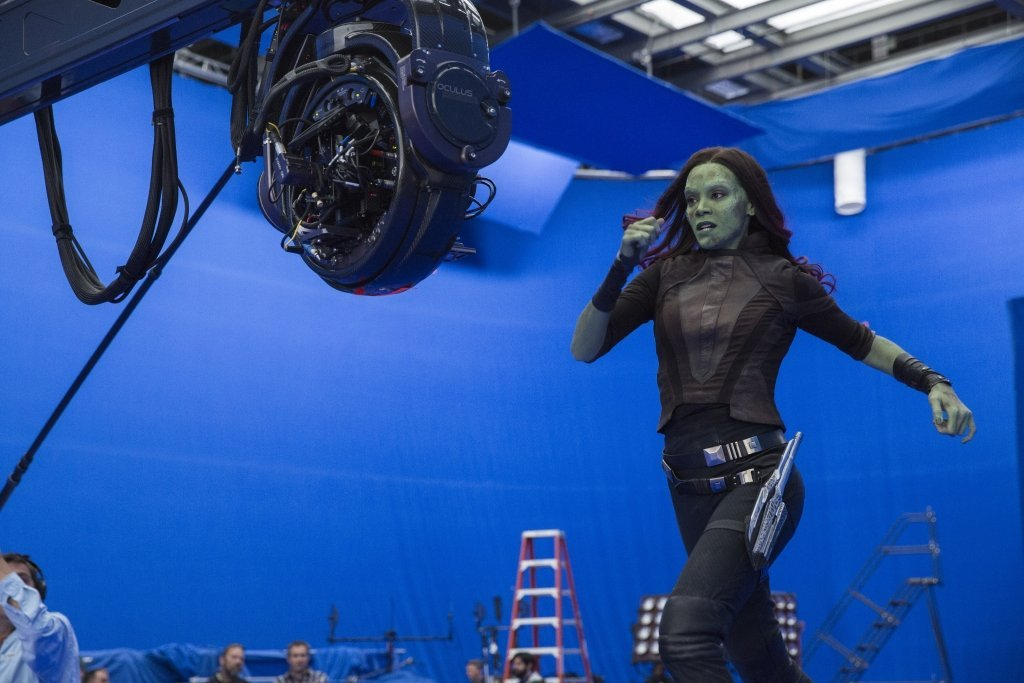 Zoe Saldana Talks Gamora in an Exclusive Guardians of the Galaxy Vol. 2 Interview