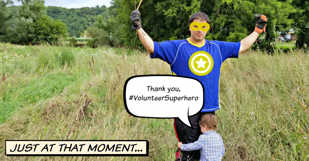 Reward Volunteers – Improving Communities one Volunteer Superhero at a Time!