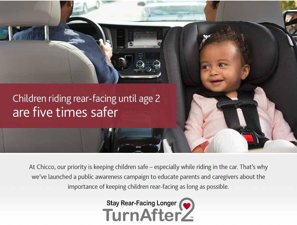 Keeping Kids Safe – When To Turn Around Your Car Seat