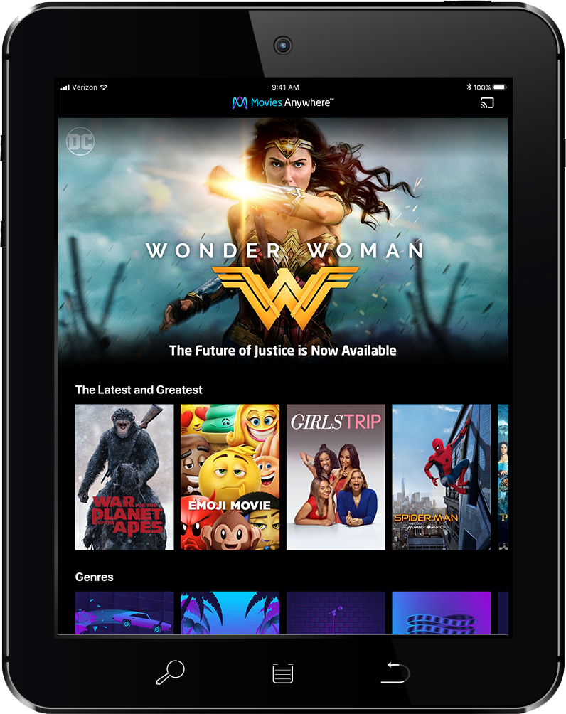 We are HUGE into streaming T.V. and movies, and with Movies Anywhere, I can save all my purchased movies in one place! Disney, Fox, Sony Pictures, Universal and Warner Bros -- all five studios in one place is a fantastic way to streamline your movie collection!