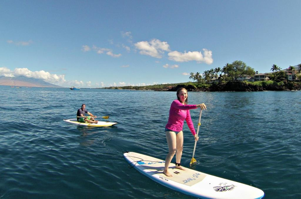 Paddle Boarding Lessons with Maui SUP