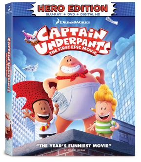 Captain Underpants: The First Epic Movie – Get Yours Today!