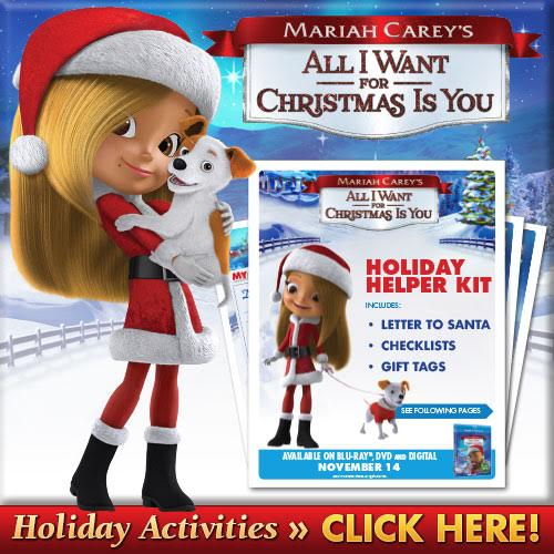 A New Holiday Favorite – Mariah Carey's All I Want For Christmas Is You