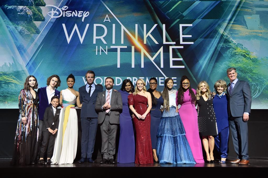 A Walk Down The A Wrinkle In Time Red Carpet – Exclusive Look