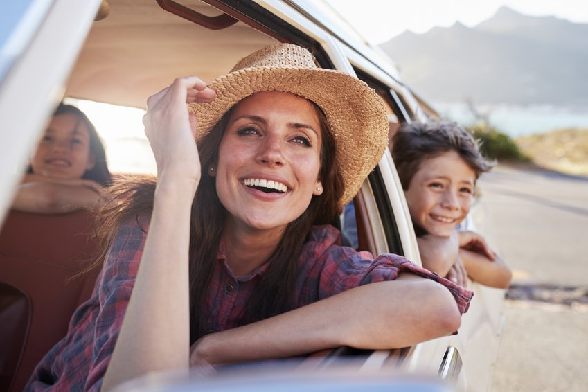 Taking a Family Road Trip? Here's How to Avoid Getting Sunburned