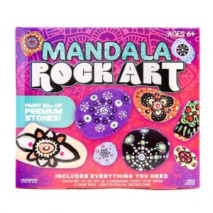 Mandala rock painting art set