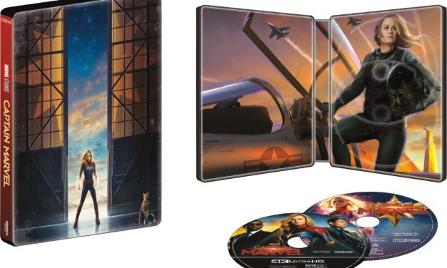 Captain Marvel Steelbook Collector's Set – Take Home Female Power Today!