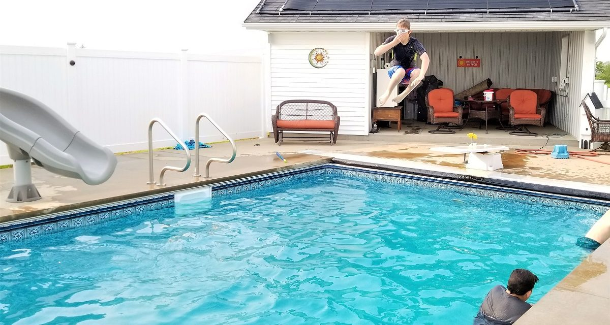 Get Your Swimming Pool Cannonball Ready!