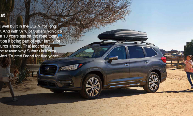 An SUV For Those Who Crave Adventure with Safety Built In