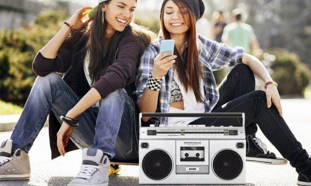 Retro ION Boombox Deluxe Bluetooth Speaker