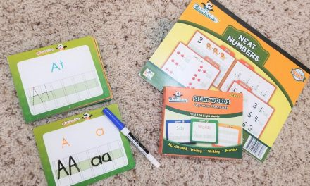 Channie's Visual Handwriting & Math Workbooks