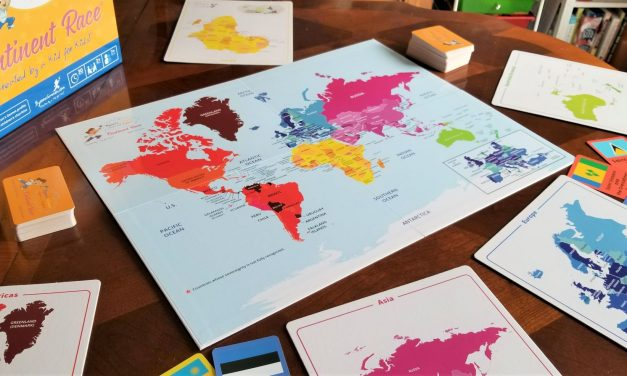 Educational Board Games | Continent Race {Review}